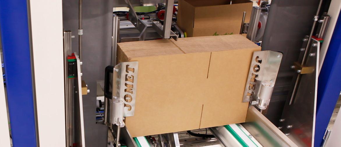 Продажа автоматизированной упаковочной машины JOMET