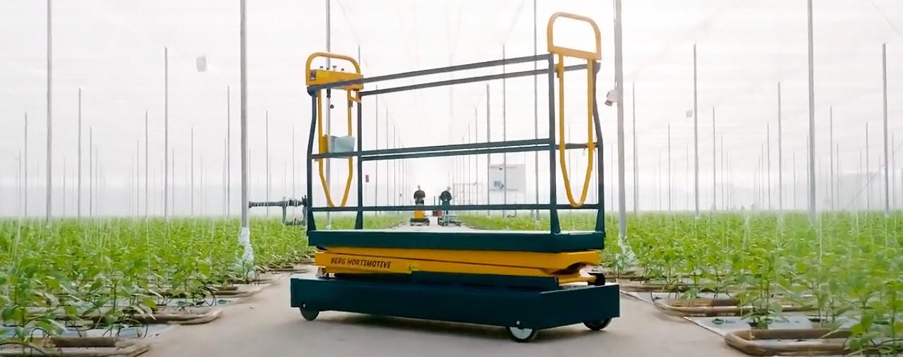 Новинка - транспортная тележка Berg Benomic S350